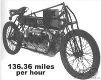 Atsakyta: 1906 CURTISS V8 Motorcycle