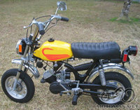 Atsakyta: 1972 Harley-Davidson Shortster (MC65)