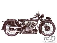 Atsakyta: Brough Superior SS100 1930