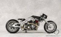 Atsakyta: Cruell su 1200 cc Buell varikliu