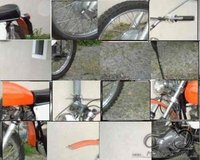 Atsakyta: Ducati 125 Scrambler, 1973