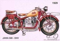 Atsakyta Jawa 500 OHV 1929m.