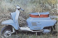 Atsakyta. Motoroleris Vyatka V-150M