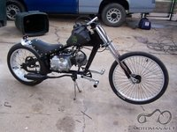 Atsakyta: dviratis Schwinn StingRay su Honda 50 motoru