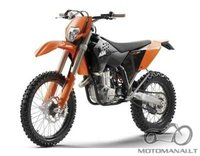 Atsakytas: KTM 400 EXC Dirt Bike '09