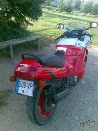 Lapkricio 11 Panevezio rajone, Berciunu kaime buvo pavogtas motociklas HONDA CBR 1000, 89 metu