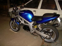 pavogtas Suzuki SV650