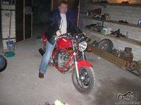 Pavogtas motociklas Yamaha XJ600n