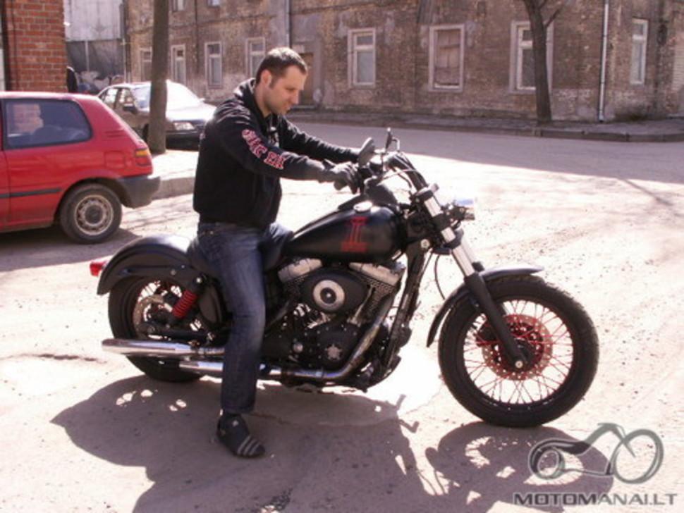 Pavogtas Harley Davidson street bob