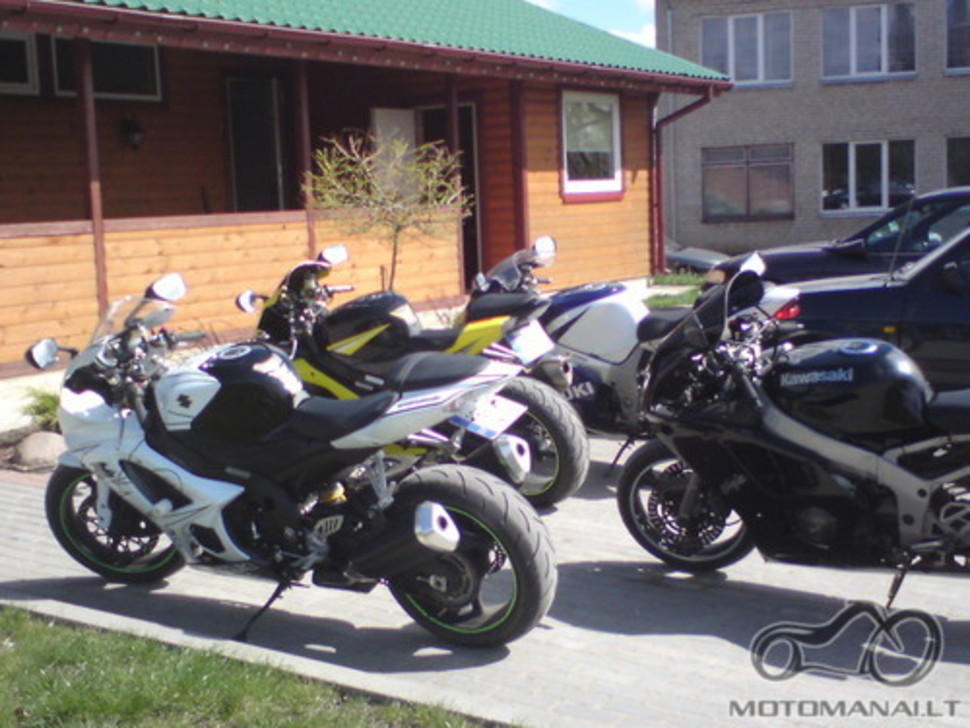 Pavogtas motociklas Suzuki GSX R1000 2008m.