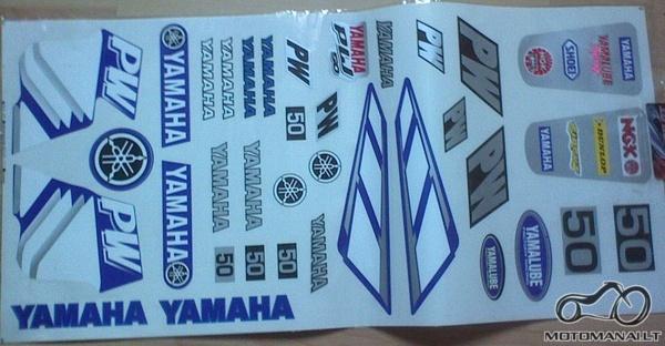 Detaliu kratinys  yamaha dt 80