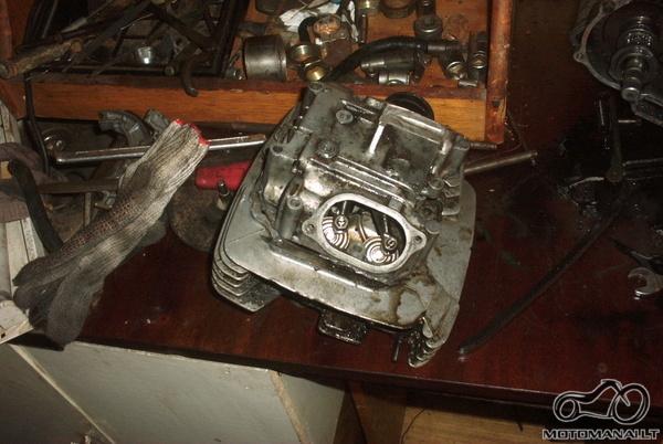 Honda xl 500 1980 gaivinam :)