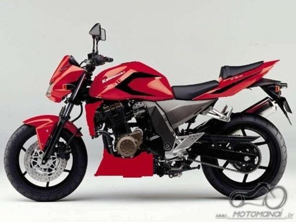 Kawasaki Z 750 stylingas, patarkit