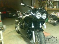 Sheshkai customs pristato: Yamaha FZR 1000 Christina.Atgimusi tabako dumuose...