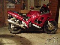 Suzuki rf600 atstatymas