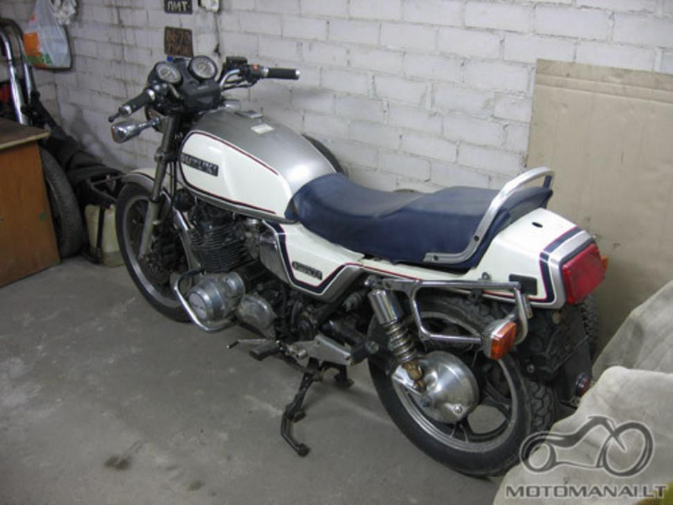 Suzuki GS 850 G atgaivinimas