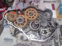 Aprilia Rs 125cc plasmasiniai dantraciai