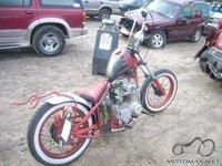 Harley davidson (nuo pirkimo aukcione iki tvarkingo motociklo)