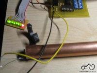LED bendzino lygio matuokle.