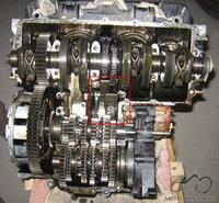 Variklio ir generatoriaus grandinės [CBX 750F]