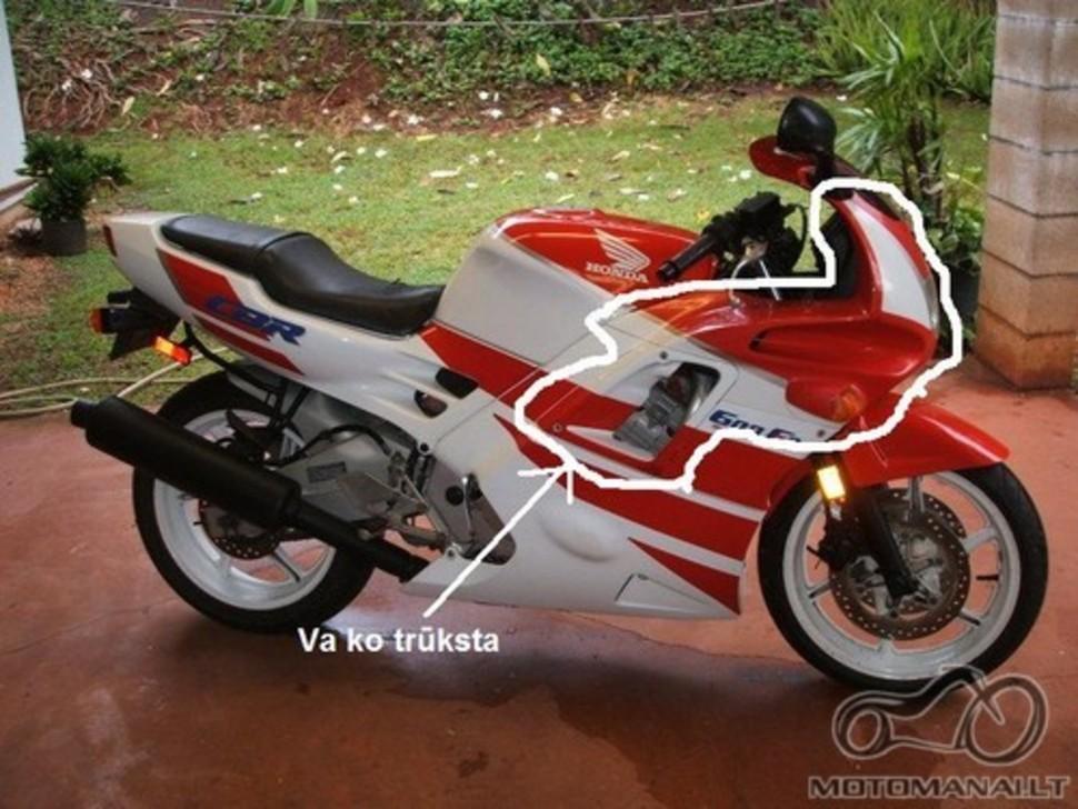 Plastmasių pritaikymas nuo kitų modelių (Honda)