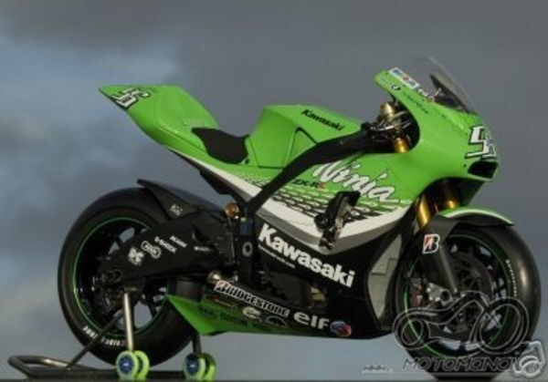 Kawasaki Moto GP 2006 lipdukai