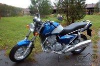 Jawa 350 blue style, padekit