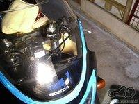Poliruojam motociklo stikliuka