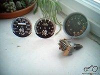 Spidometro ciferblato keitimas