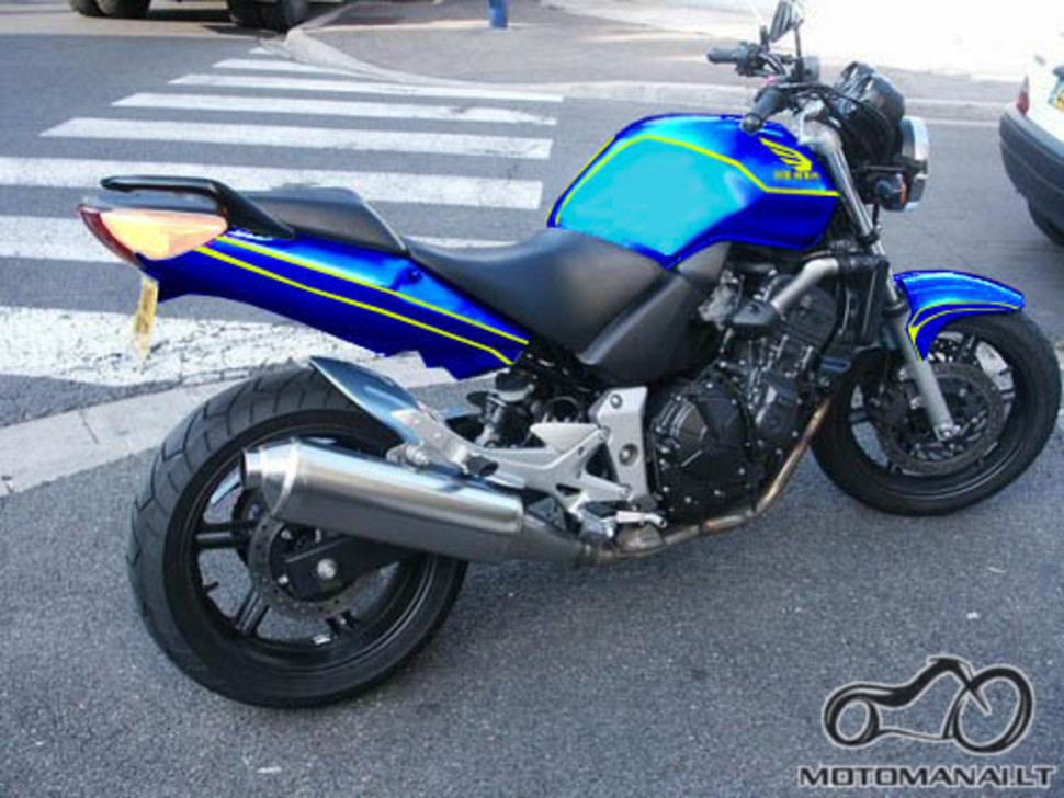 Honda CBF600 dažymas