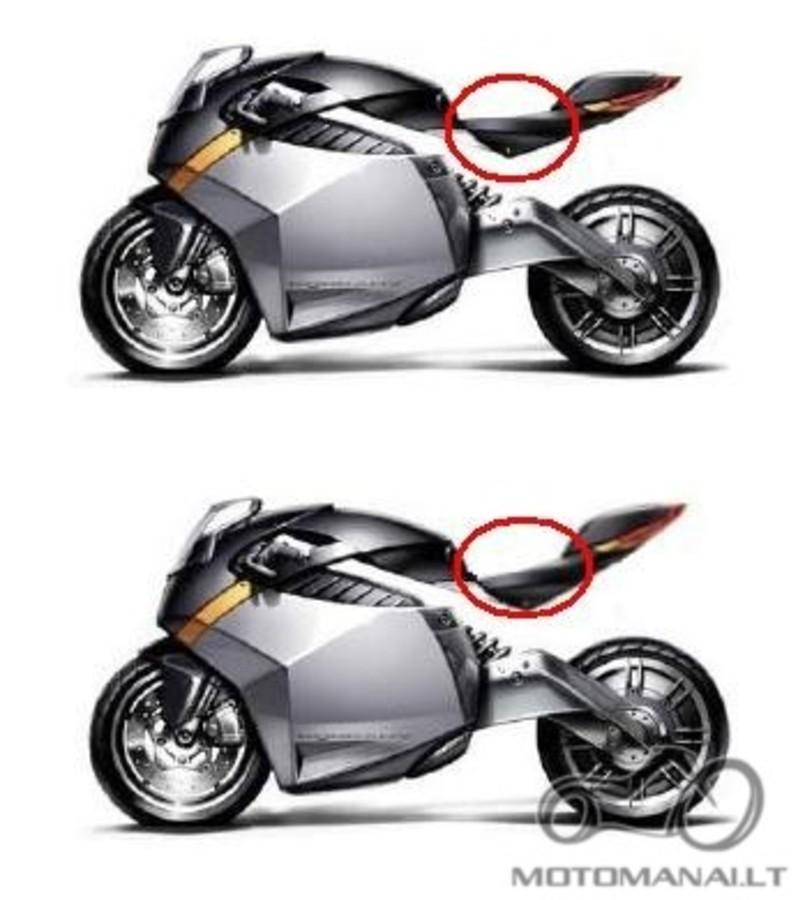 Kaip iškelt motociklo galine dalį