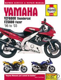 Haynes YZF600R FZS600