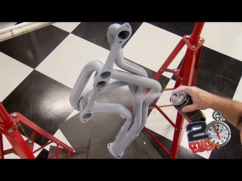 How To Coat Headers With High Temperature Paint
