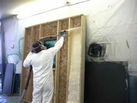 Polyurethane Spray Foam Demo Video