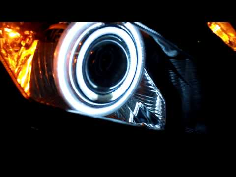 Yamaha R6 Halo Projector Mod