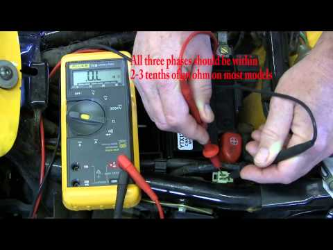 Ricks Motorsport Electrics, Inc. How to test a motorcycle stator