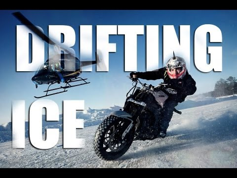 Ice Drifting Motorbike - Gymkhana - Jorian Ponomareff