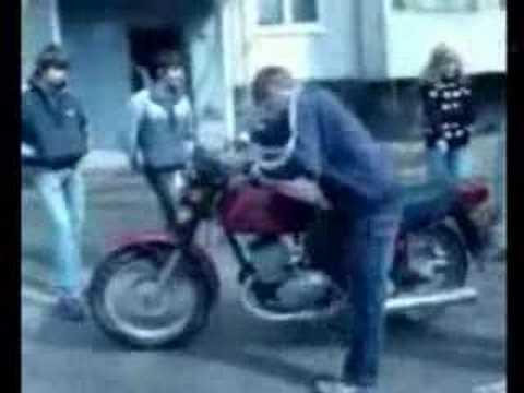 придурок на мотоцикле