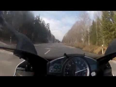 Crazy race over 299 km / h