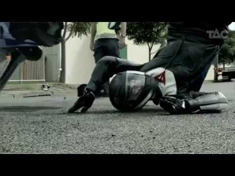 2012 Motorcycle Accident Reconstruction 'TAC TV road safety commercial'