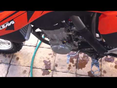 2013 KTM 450 SXF clutch noise