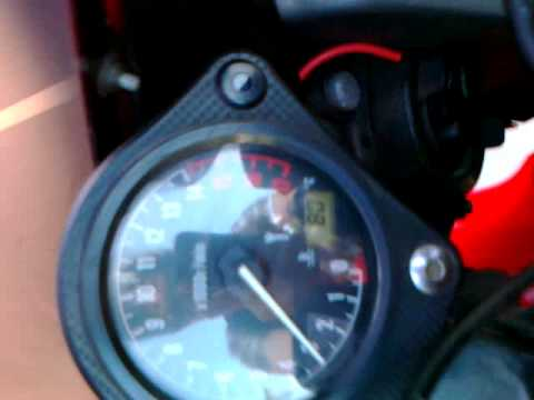 Strange noise on CBR 600 F4i 2002 (2500-3000 RPM)