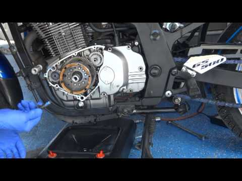 GS500 Starting Problem and Generator Rotor Repair