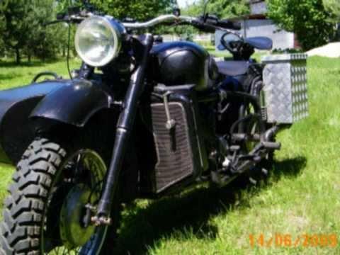 Diesel motorcycle KMZ K-750   Daihatsu Charade Diesel cz.1