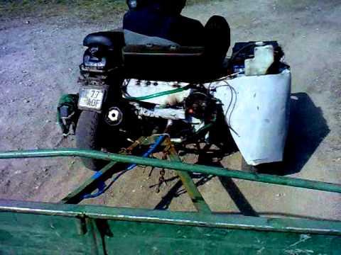 125cc Kaleske   Masinine Priekaba