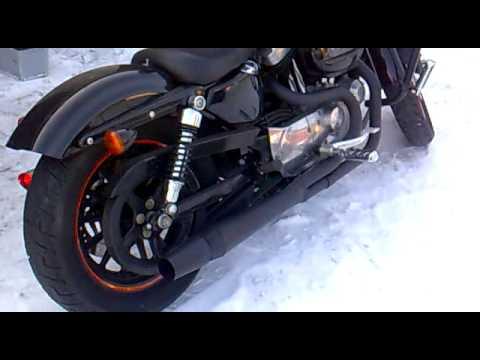 Harley Davidson Sportster Thunderheader 2 into 1 exhaust