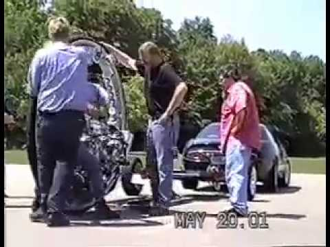 McLean V-8 Monocycle (Crash)