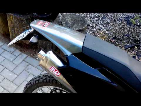 Derbi Senda 125 baja R DIY homemade exhaust muffler