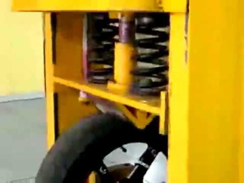 BST Carbon Fibre Motorcycle Wheel TÜV Test