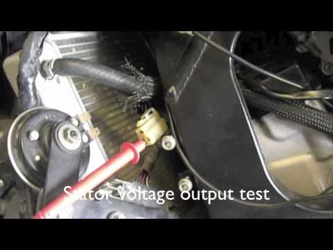 CHECKING YOUR CHARGING SYSTEM AND CHANGING STATOR AND REGULATOR RECTIFIER